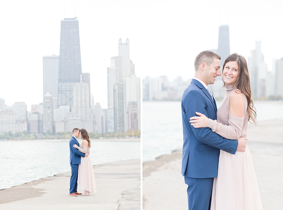 North Avenue Beach Chicago Engagement Session