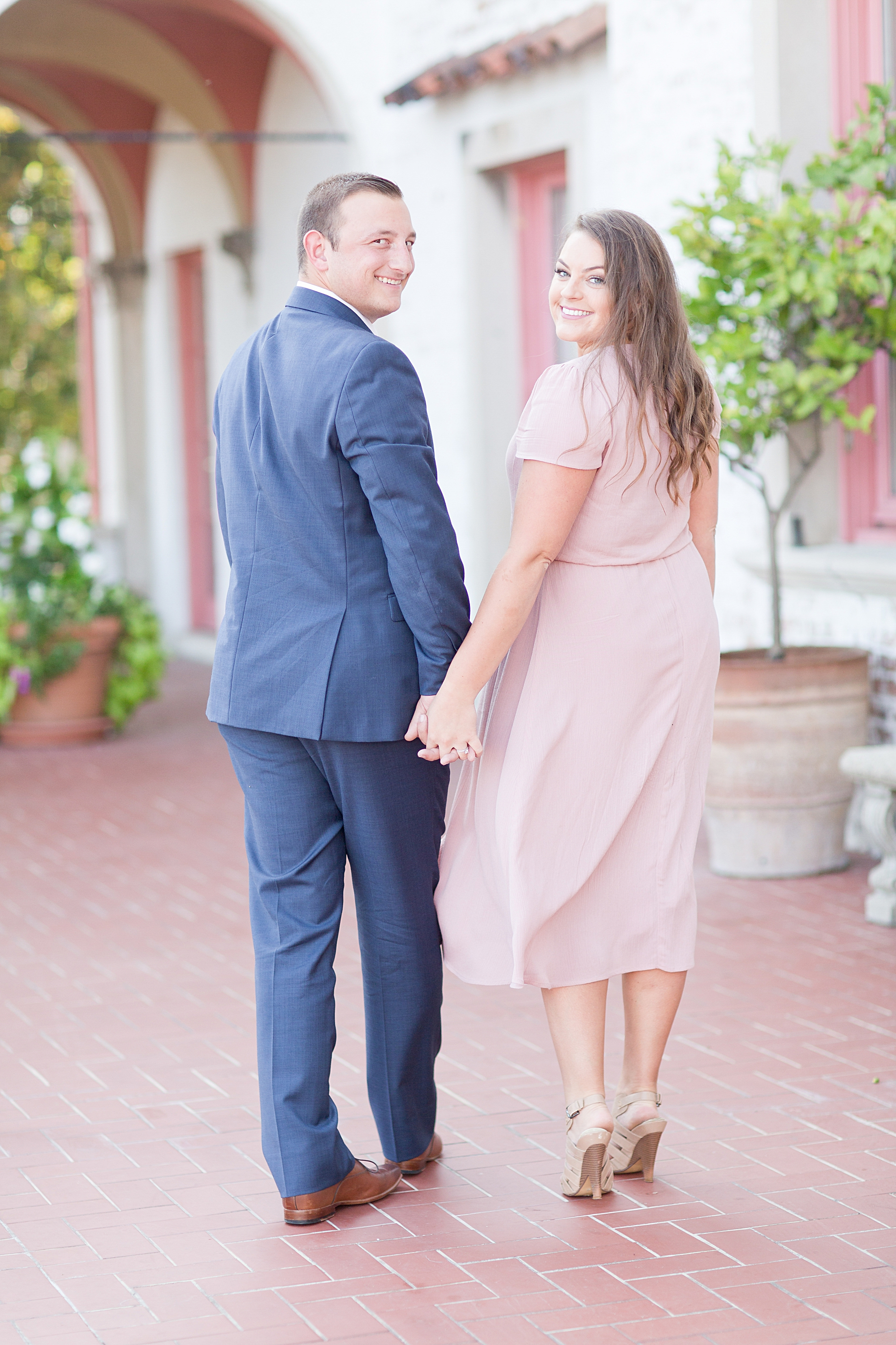 Villa Terrace Decorative Arts Museum Engagement Session